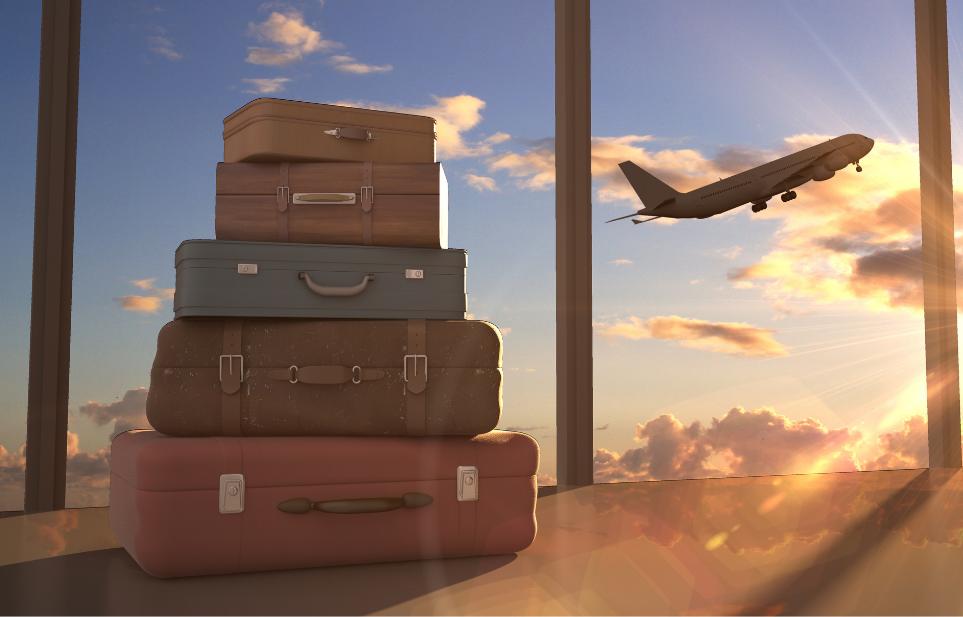 Luchthavenvervoer Zaventem bagage vliegtuig