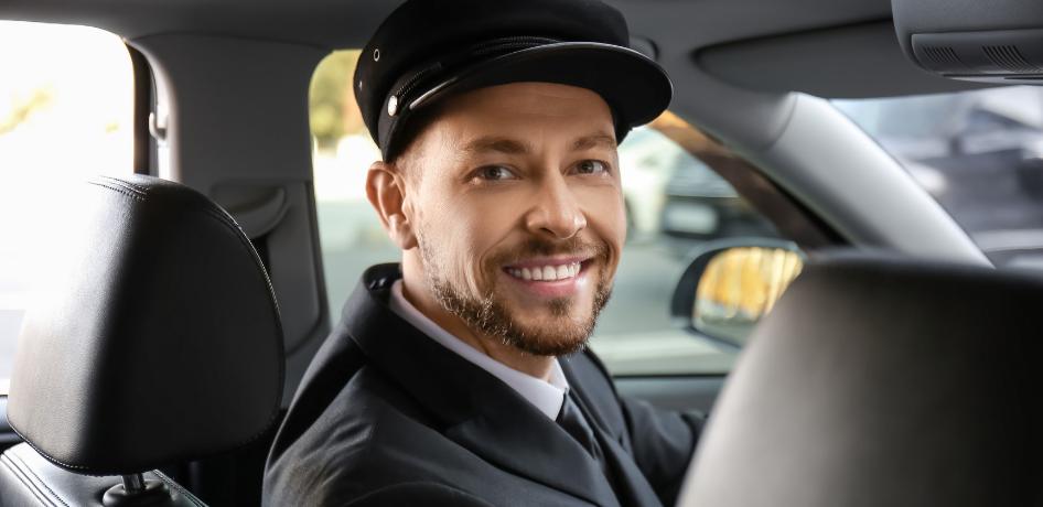 Taxi chauffeur auto
